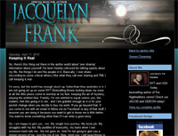 Blog for Jacquelyn Frank