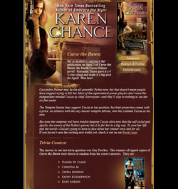 Karen Chance Newsletter